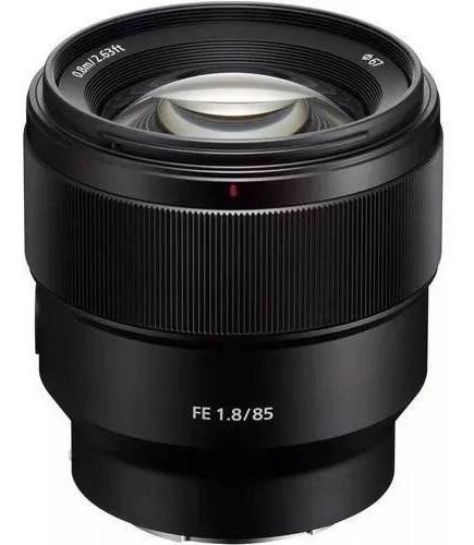 Lente Sony Fe 85mm F1.8 - Garantia + Nfe
