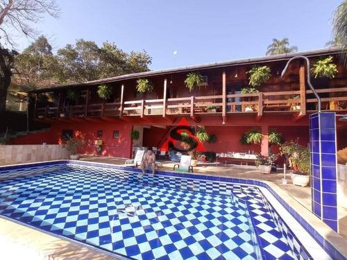Casa Com 4 Dormitórios À Venda, 450 M² Por R$ 1.400.000,00 -  Igarata  - Igaratá/sp - Ca2510
