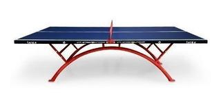 Mesa Ping Pong Exterior Rainbow Xtt9 Moderna Incluye Funda
