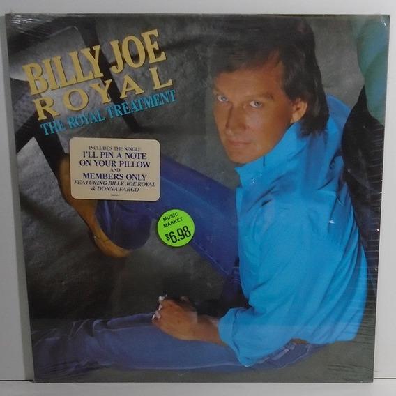 Billy Joe Royal 1987 The Royal Treatment Lp Lacrado De Época