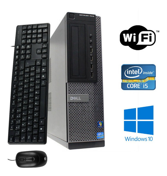 Computador Dell - Core I5 4gb Ram Ssd 480 Windows 10!
