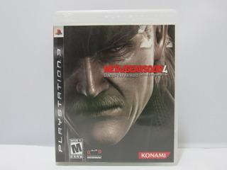 Metal Gear Solid 4: Guns Of The Patriots Ps3 ¡fisico-usado!