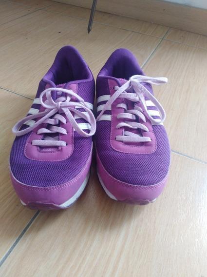 Zapatillas adidas Violetas