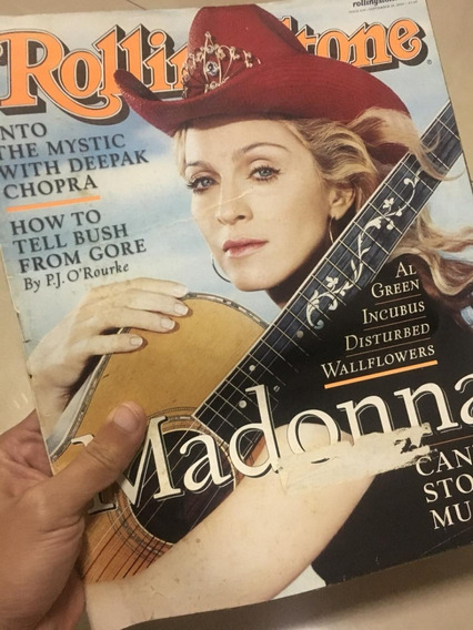 Revista Rolling Stone - Madonna - 2000 - Eua