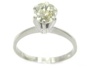 Joianete A9116-02494 Anel Ouro Solitário Diamante 50 Pts