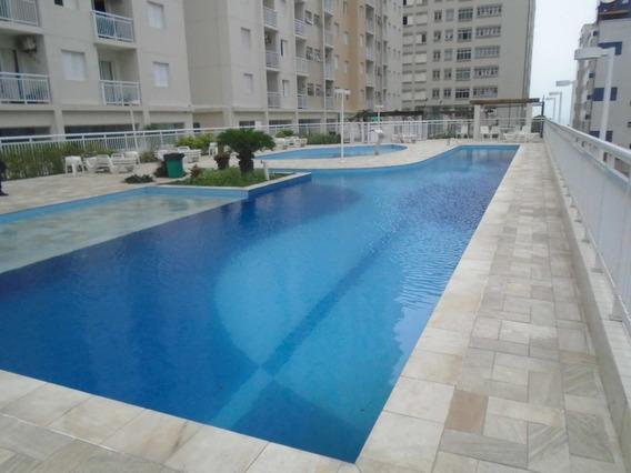 Apartamento Em Ocian, Praia Grande/sp De 52m² 2 Quartos À Venda Por R$ 275.000,00 - Ap340405
