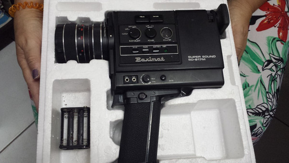 Kit De Camera Progetor E Tela Super 8 Mm