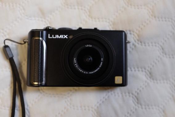 Câmera Fotógrafica Panasonic Lumix Dmc-lx3 Lente Leica