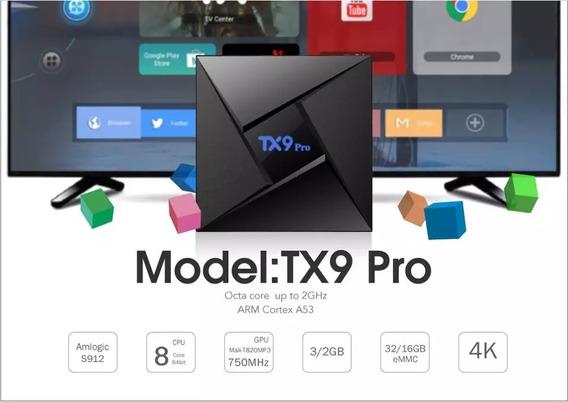 Box Streaming Octacore Tx9 Pro Amilogic S912 Mali820 2gb Ram