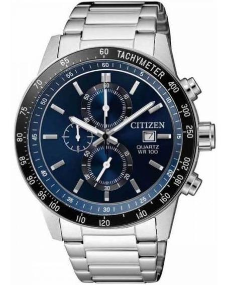 Relógio Citizen Masculino Prata Tz31169f Multi Função