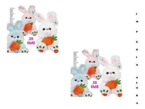 Peluches Conejos Por Unidad 20cm Sf562