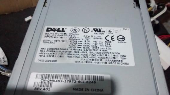 Fonte Dell Precision 690 0mk463 N750p-00 Nps-750ab A (700w)