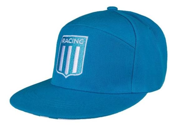 Gorra Snapback Visera Plana Racing Club Con Licencia Oficial