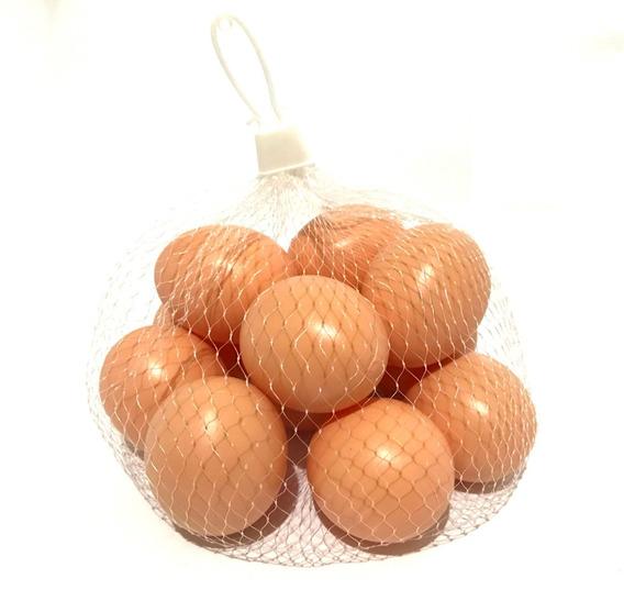 1 Dúzia Ovos Artificiais - Brinquedo