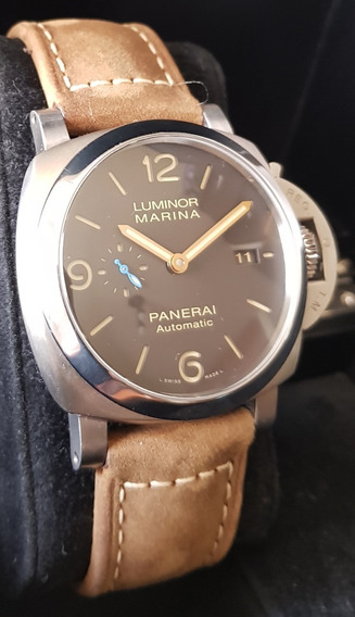 Panerai Luminor Marina 1950 Titanio 44mm 3 Days Brown Dial