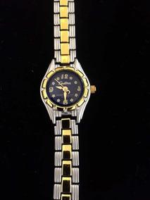 Relógio Feminino Cadina Azul Produto De Mostruário 016