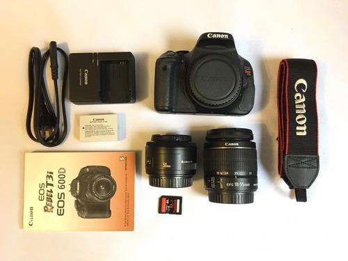 Câmera Canon T3i, + 2 Lentes + Flash - (ler Anúncio) 32gb