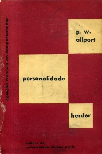 Personalidade Padrões E Desenvolvimento G. W. Allport 1969