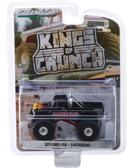 Greenlight Kings Of Crunch 1975 Ford F-250 Earthquake 1:64