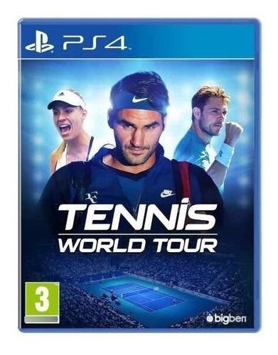 Imagen 1 de 2 de Tennis World Tour Ps4 Fisico Sellado Ade Ramos