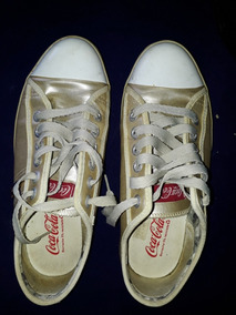 Tenis All Star Coca Cola Dourado