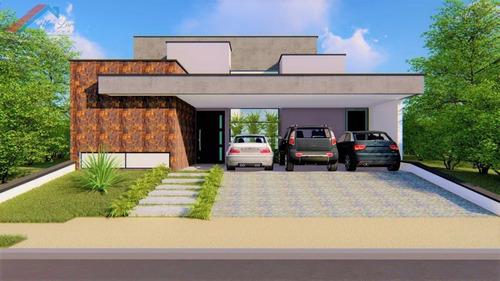 Casa A Venda No Bairro Parque Campolim Em Sorocaba - Sp.  - Ca 045-1