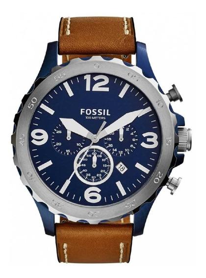 Relógio Fossil Masculino Nate Cronógrafo Jr1504/0ai