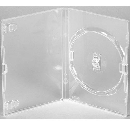 100 Estojo Capa Dvd Amaray Bem Resistente Capinha Original