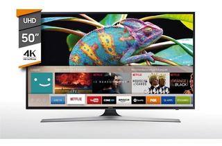 50 Smart Tv Samsung 4k Ultra Hd Mod Un50mu6100gxzd