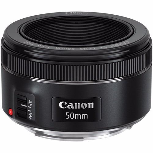 Obj. Canon Ef 50mm 1.8 Stm