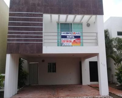 Renta De Casa Amueblada En Altamira Fracc. Residencial El Náutico