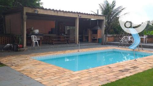 Chácara Com 3 Dormitórios À Venda, 1151 M² Por R$ 750.000,00 - Jardim Florido - Vinhedo/sp - Ch0180
