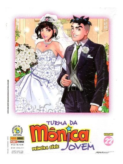 Turma Da Monica Jovem 22 1ª Serie - Bonellihq Cx477 D19
