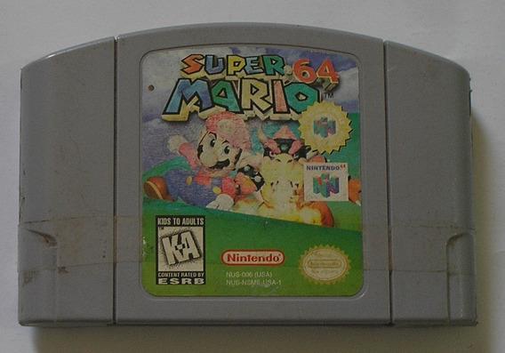 Super Mario 64 Nintendo 64 Original Americana Usada