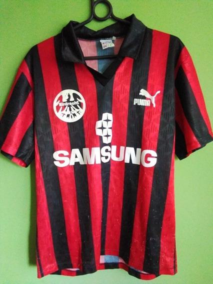 Camisa Futebol Eintracht Frankfurt Alemanha Anos 90 M
