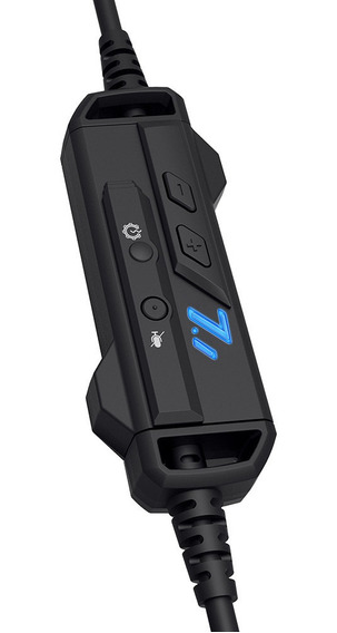 Fone Com Microfone Game Usb Heron 2 Ph-g701bkv2 C3tech