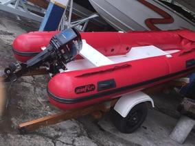 Bote Zefir 360, 2015, Motor Mercury 25hp - Marina Atlântica