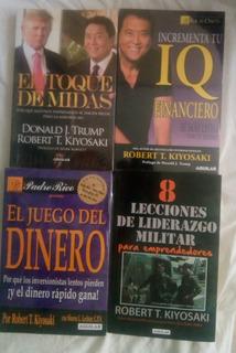 Paquete 10 Libros Robert Kiyosaki Padre Rico, Padre Pobre