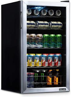 Refrigerador De Bebidas Newair Nbc126ss02 A9.75
