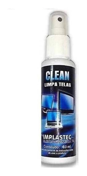 Clean Limpa Telas Implastec 60ml - Cx Com 20pcs