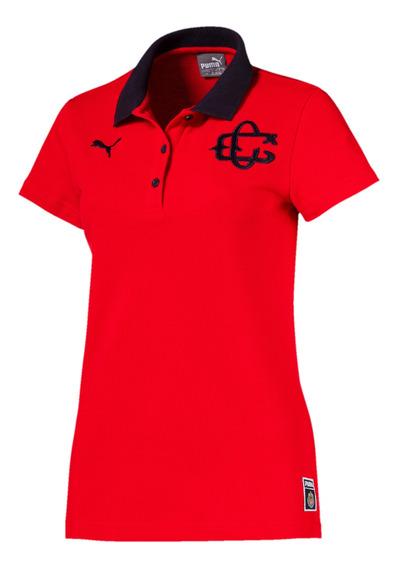 Puma Playera Polo Chivas Para Mujer Roja 753707 02
