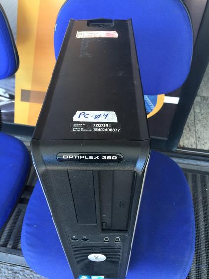 Computador Dell 4gb 250gb Optiplex380 Mercado Pago