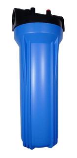 Porta Filtro Azul Slim 2.5x10 Entrada 3/4 Pr