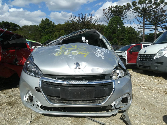 Sucata Peugeot 208 Allure Eat6 2017/2018 Retirada De Peças