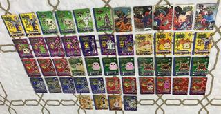 48 Cards / Tazos Elma Chips Digimon