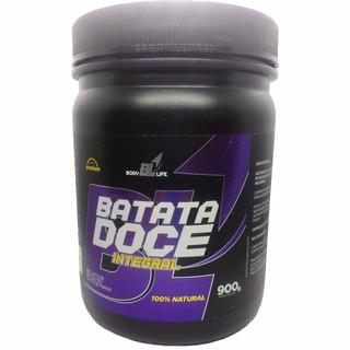 Batata Doce Roxa Em Pó Premium 900g Body Life