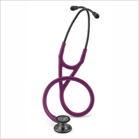 Littmann Cardiology I V 6166 Plum Smoke + Linterna