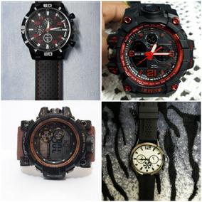 Kit Relógio Masculino Promocão
