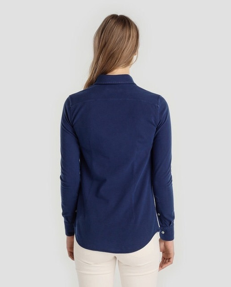 Camisas Polo Ralph Lauren De Dama Azul 100% Original Eeuu