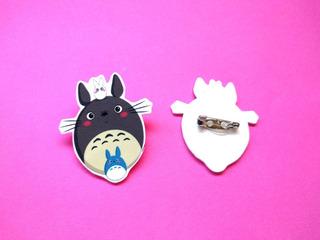 Prendedor Mi Vecino Totoro Pin Studio Ghibli Anime Miyazaki